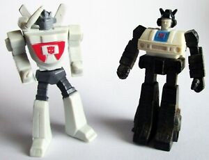 Transformers Tomy Suntry Boss Coffee Wheeljack Jazz DAMAGED LOOSE AS-IS