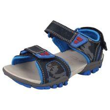 Chaussures bleus larges en synthétique pour garçon de 2 à 16 ans