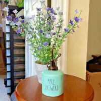 "Rae Dunn ""APRIL SHOWERS"" teal Artisan Plant Water Mister"
