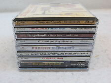 Lot of 9 COUNTRY MUSIC CDS  Various Artist/Labels