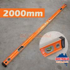 2000mm 2m meter Level Sturdy Aluminium Spirit Level with 3 Vials Measure Tool
