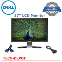 """DELL HP SAMSUNG MAJOR BRAND 17"""" LCD Monitor w/ cables- GOOD DEAL!!"""