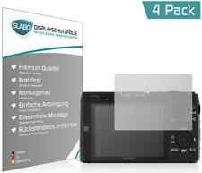 """Slabo Displayschutzfolie für Sony DSC-HX60 (4er Set) MATT """"No Reflexion"""""""