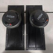 JBL 2370a & 2426H HORN LENS & COMPRESSION DRIVER PAIR-90 X 40 DEGREES-SUPER NICE