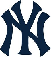 "New York Yankees NY MLB Color Vinyl Decal - You Choose Size 2""-28"""