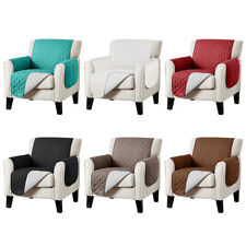 Waterproof Quilted Sofa Cover Chair Couch Slipcover Furniture Protector Non Slip
