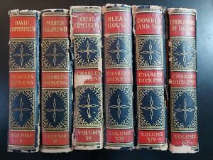 1868 Works Charles Dickens, ClearType Illustrated Edition HC, Vol 1 2 4 13 14 15