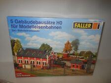 FALLER MEHRTEILIGER MODELLBAUSATZ LOKSCHUPPEN 190394 - SPUR H0