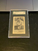1922 BABE RUTH E121 American Caramel Photo Montage - NEW York Yankees - SGC 1