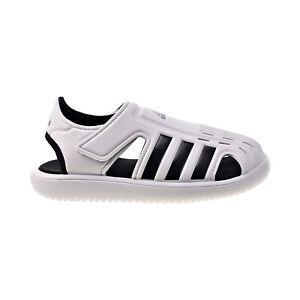 Adidas Water Sandals C Little Kids' Cloud White-CoreBlack FY6044