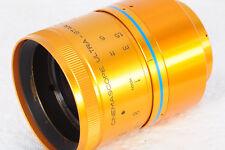 Isco Anamorphic Blue Ultra-Star 2x Cinemascope Lens TESTD Panasonic GH2/3/4 8789