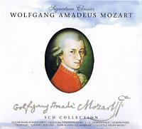 "Signature Classics ""WOLFGANG AMADEUS MOZART"" 5CD-Box NEU & OVP ZYX Music 2008"