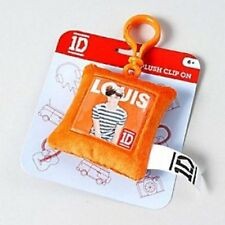 One Direction 'Louis' Square Shaped Plush Brands Backpack Clip (BT147)