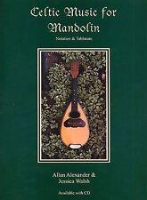 Música Celta Para Mandolina aprender a jugar irlandés Canciones Populares De La Música Libro