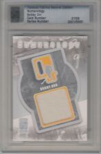 2010 Famous Fabrics 2nd Edition Bobby Orr Numerology Jersey 1/9 Mint Condition