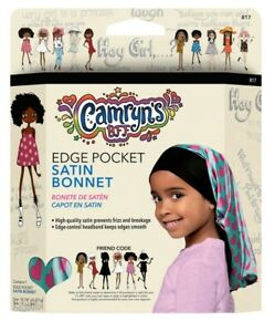 Camryn's BFF® Satin Edge Pocket Bonnet New With Free Shipping!!