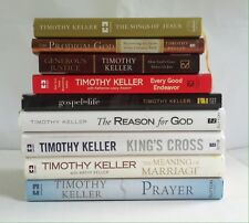 Lot 9 Timothy Keller Books 6HC Prodigal God, Prayer, Reason for God King's Cross