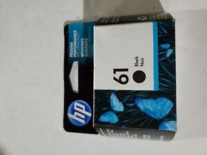 GENUINE HP61 (CH561WN) Black Ink Cartridge New In Sealed Package