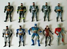 Lot de 10 figurines Batman - Kenner