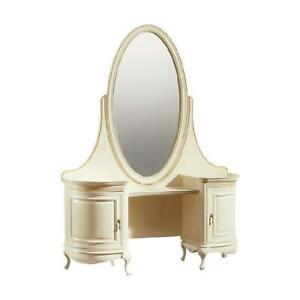 Clásicos Consola Espejo de Maquillaje Tocador Cómoda - Modelo V-Frisiertisch