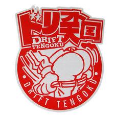 Drift Tengoku Set Up JDM tuning stickers decals racing car emblem Bad Ass driver