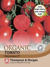 Thompson & Morgan - Tomato Falcorosso F1 Hybrid (Organic) - 8 Seeds