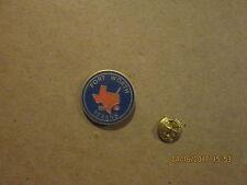 CHL Fort Worth Texans Vintage Defunct Logo Hockey Lapel Pin