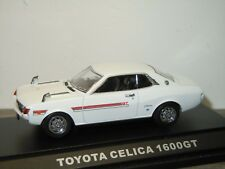 Toyota Celica 1600 GT - Ebbro Oldies 1:43 in Box *34901