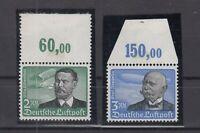 CP7479/ GERMANY REICH – AIRMAIL – MI # 538 / 539 MINT MNH – CV 415 $