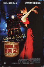 "Moulin Rouge Movie Poster Print 24x36"" Nicole Kidman Ewan McGregor"