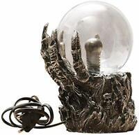 gshhd0 Plasma Lampe Boule,Tactile Sensible Magique Balle, Squelette Main Plasma