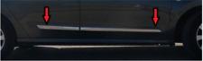 4 Modanature Protezione Acciaio Cromo Porte Stampate  SUZUKI VITARA 2015>