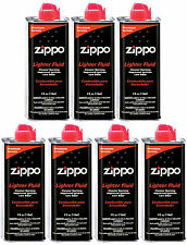 7 X 4 OZ. Cans Fuel Fluid for Zippo Lighter