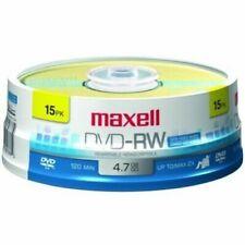 Maxell 4.7GB 2x DVD-RW Media - 15 Pack