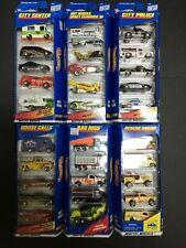 1997-1998 Hot Wheels Gift Packs Lot Of 6