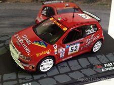 1/43 FIAT PUNTO S1600 DALLAVILLA RALLY CATALUNYA 2001  IXO EAGLEMOSS DIECAST