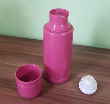 Thermoskanne von Emsa Design rosa W.Germany Vintage Isolierflasche Thermokanne