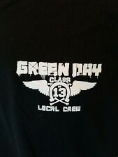 GREEN DAY Local Crew T Shirt Size XL 2013 Class