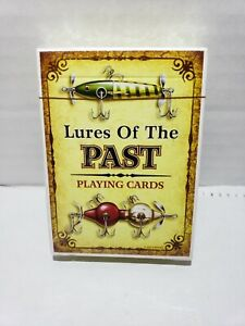 Lures Of The Past Playing Cards.  New In Package