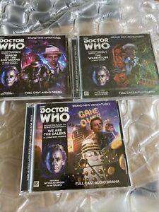 Dr Who 7th Dr Adventures Big Finish Audio Cds Bundle Part Sealed