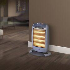 Halogen Heater Oscillating 3 Heat Settings Portable For Home Office 1200 Watt