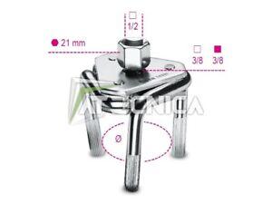 Clé Beta 1493T auto-réglable à trois bras pour filtres à huile gauchier
