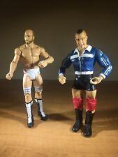 Lot of 2 WWE - Basic Action Figures - Santino / Cesaro - Mattel Toy - Loose