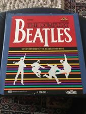 "Ced Videodisc"" THE COMPLEAT BEATLES"" All The Songs Fantastic And Very Rare."