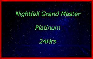 Nightfall Grand Master (PS4, PS5 and XBOX)