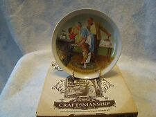 "Knowles Csatari Grandparent Series ""The Cookie Tasting"" Collectors Plate Coa Box"