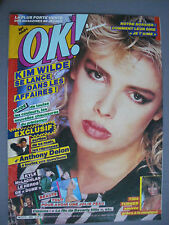 ► OK AGE TENDRE  N°480 - COVER KIM WILDE - TINA TURNER - ANTHONY DELON
