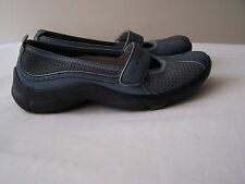 Clarks Privo Womens Size 5M Blue Leather Slip On Mary Jane Shoes