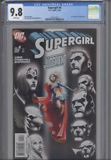 2004 Supergirl #4 Lex Luger & JLA App CGC 9.8: New Frame