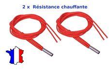 2 résistance chauffante 12v 40w ceramique imprimante 3d ceramic cartridge heater